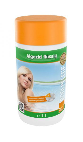 Steinbach Algezid, flüssig, Algenvernichter, 1l Flasche