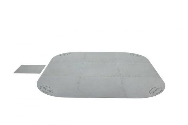 LAY-Z-SPA Xtras Bodenschutzfliesen-Set 216 x 216 cm