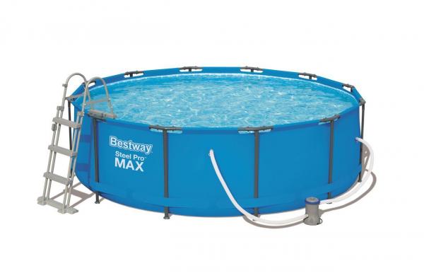 Bestway 56418 Pool mit Poolleiter und Filterpumpe