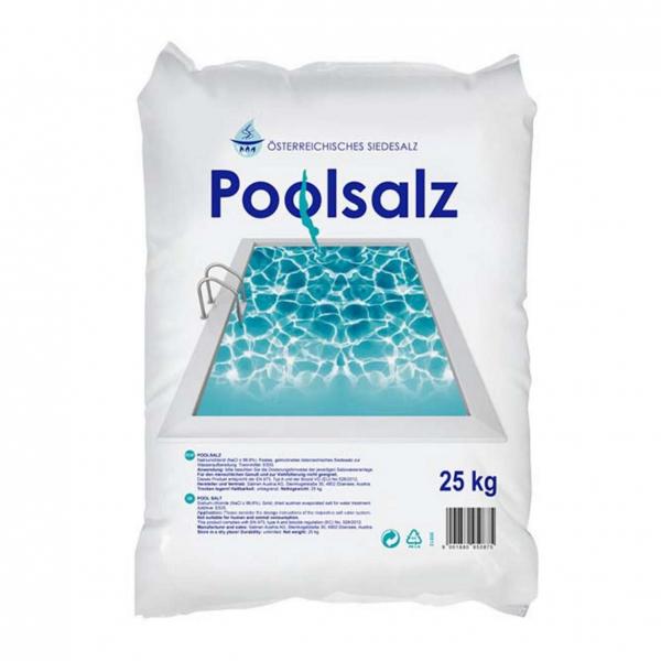 Poolsalz für Elektrolyseanlagen, Wasserpflege Pool, chlorfrei