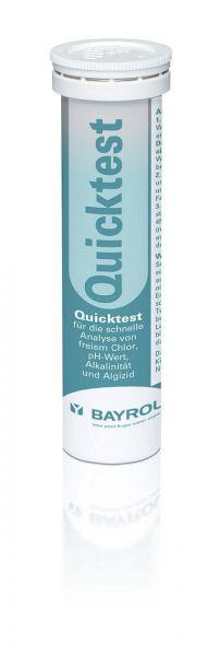 Bayrol Quicktest Teststreifen Chlor Alkalinität, pH-Wert