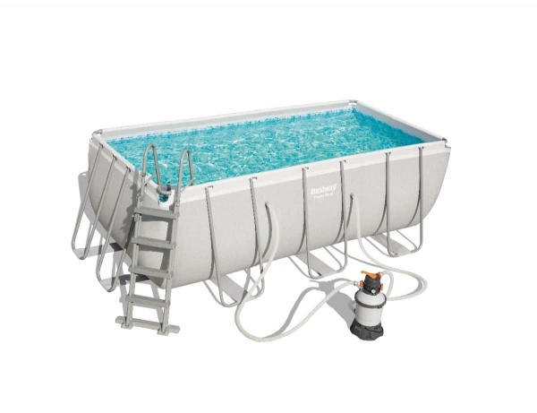 Frame Pool Power Steel Set