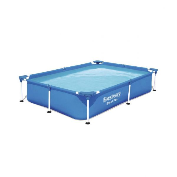 Steel Pro Frame Pool, 221 x 150 x 43 cm Hauptbild
