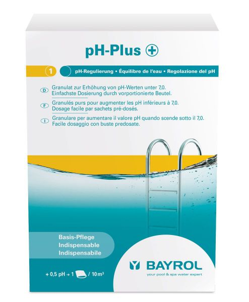 Bayrol pH-Plus Granulat 1,5 kg, Dosierbeutel