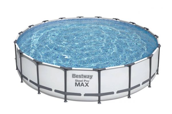 Steel Pro Max Frame Pool Komplett-Set, 549 x 122 cm, Hauptbild