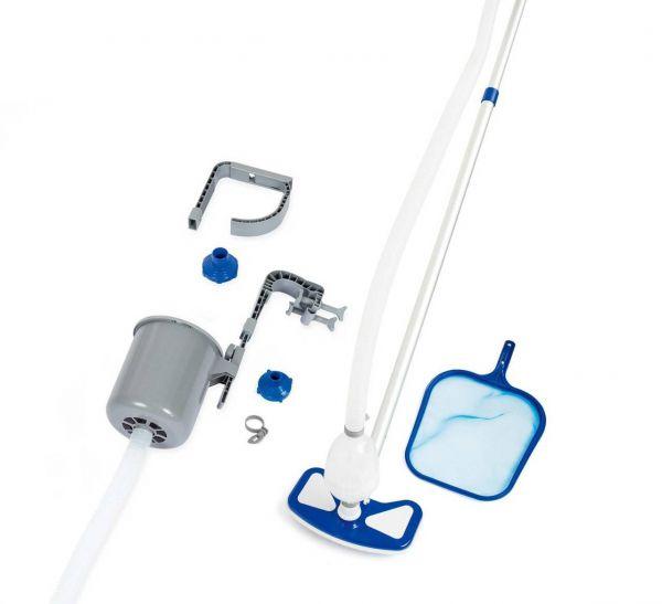 Flowclear Poolpflege Deluxe-Set für Pools bis 610 cm