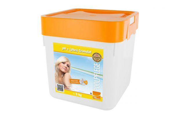 ph-Plus Granulat, 5kg, Wasserpflege für Pool