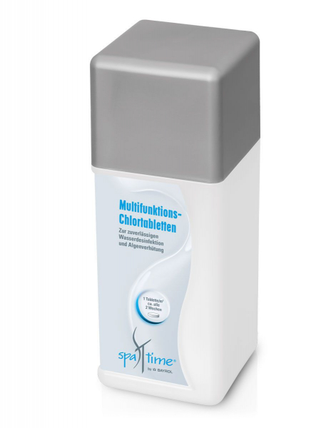 Bayrol SpaTime Multifunktions-Tablette mit Chlor für Whirlpool